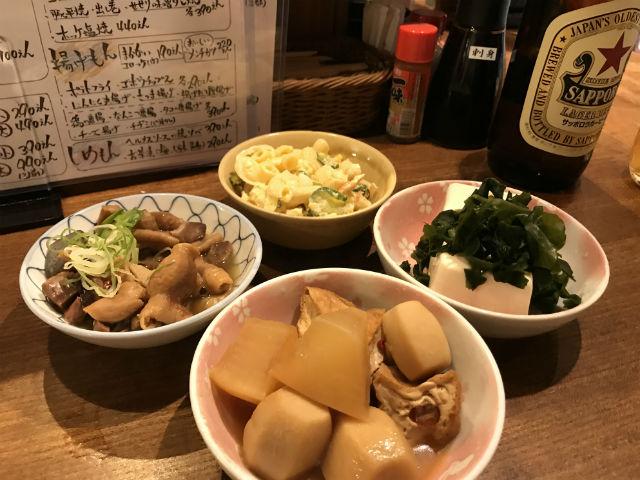 徳田酒店のメニュー