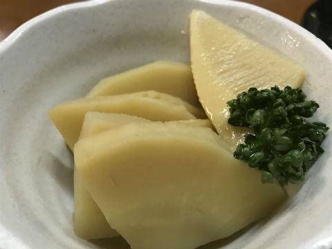 阪急中津のいこい食堂 若竹煮