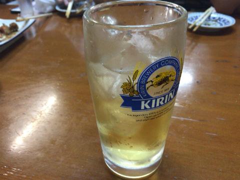阪急中津のいこい食堂 ドリンク