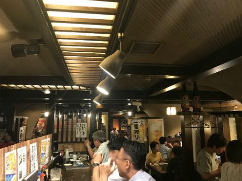 新梅田食道街のはちきん