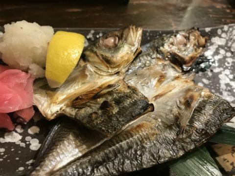 新梅田食道街のはちきん 一夜干し